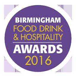 Birmingham Food, Drink & Hospitality Awards 2016