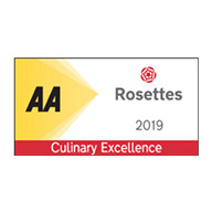 AA Rosette For Culinary Excellence