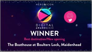 Digital Awards, Best destination/New opening